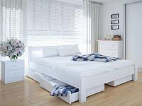 Кровать MeblikOff Эко с ящиками (140*190) дуб