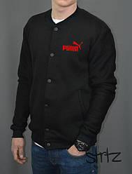 Мужской бомбер Puma черного цвета
