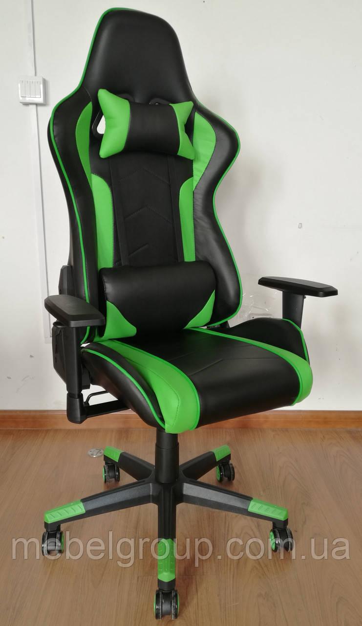 Крісло геймерське Drive green BL7588
