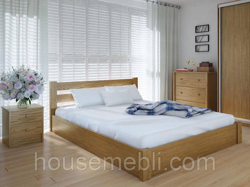 Кровать MeblikOff Эко с механизмом (140*190) ясень