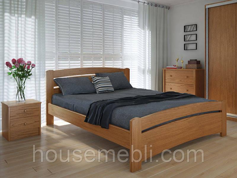 Кровать MeblikOff Грин плюс (160*200) дуб