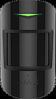 Бездротовий датчик руху та розбиття скла Ajax СombiProtect Чорний