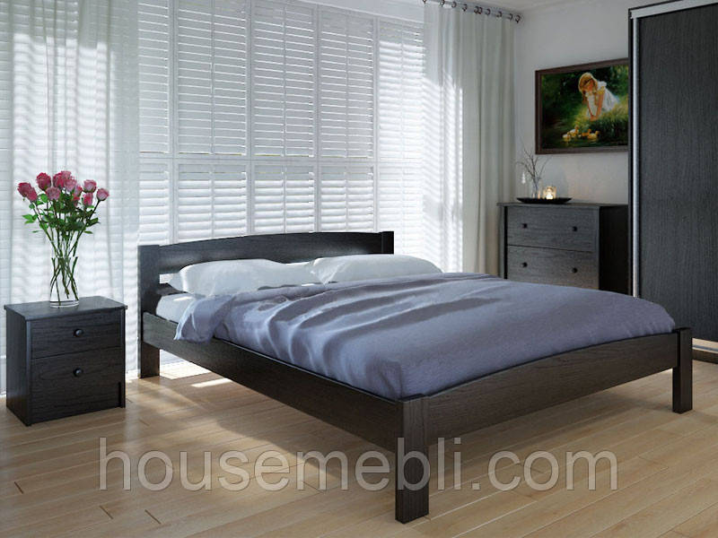 Кровать MeblikOff Скай (160*200) ясень