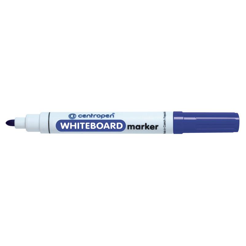 Маркер для досок Board Centropen 2.5 мм круглый синий 8559/03