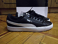 Кроссовки Puma Court Star Vulc, BTS, белого черного цвета, фото видео!