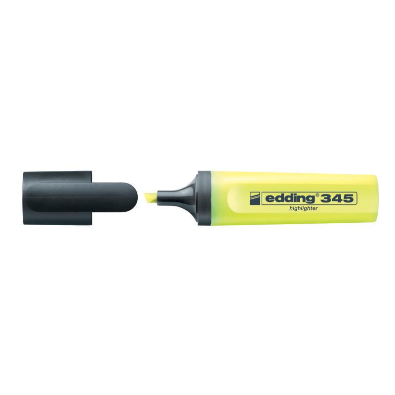 Маркер текстовыделитель Highlighter Edding 2-5 мм скошенный желтый e-345/05