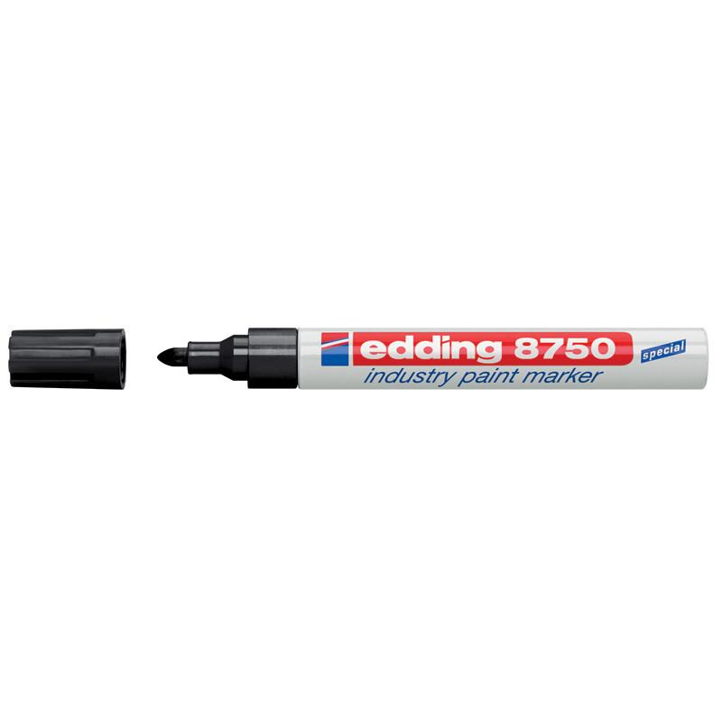 Маркер лаковый промышленный Industry Paint Edding 2-4мм черный e-8750/01