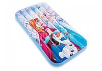 Детский надувной матрас «Frozen» 48776 Intex, 88х157х18 см