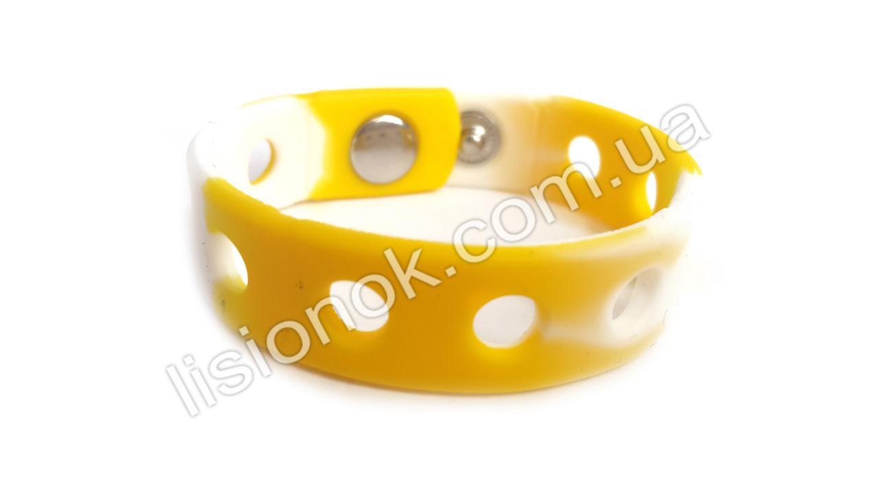 Браслеты для джибитсов Crocs Бело-желтый