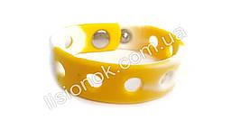 Браслети для джибитсов Crocs Біло-жовтий