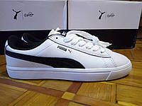Кроссовки Puma Court Star Vulc, BTS, белого черного цвета, фото видео!