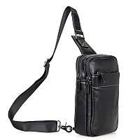Кожаный рюкзак-сумка 4002A