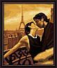 Картина раскраска MENGLEI Французский поцелуй (MG045) 40 х 50 см