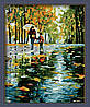 Раскраска по номерам MENGLEI Прогулка под дождем худ. Афремов Леонид (MG064) 40 х 50 см