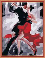 Раскраска по цифрам MENGLEI Аргентинское танго худ. Афремов Леонид (MG122) 40 х 50 см