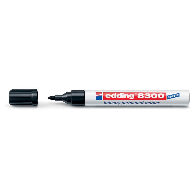 Маркер лаковый промышленный Industry Permanent Edding 1.5-3 мм чёрный e-8300/01