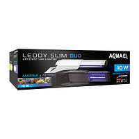 Светильник для аквариума Aquael  LEDDY SLIM DUO 10W MARINE&ACTINIC 20-50 см