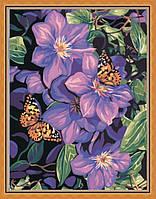 Раскраска по цифрам MENGLEI Бабочки на климатисах (MG129) 40 х 50 см, фото 1