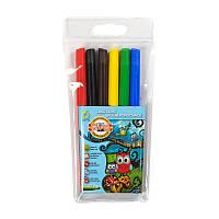 Фломастеры 6 цветов (Совята, Koh-i-noor, пластиковая упаковка, 771012JF01TE)