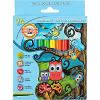 Фломастеры Koh-i-noor 24 цветов Совята картон упак. 1012СВ/24