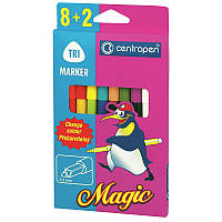 Фломастери Centropen 10 штук Magic 16цветов 2549/10