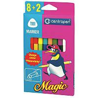 Фломастеры Centropen 10 штук Magic 16цветов 2549/10