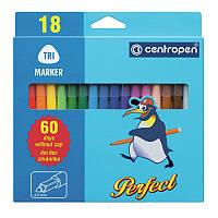 Фломастеры Centropen 18 цветов Perfect 2510/18