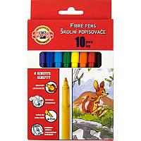 Фломастеры Koh-i-noor 10 цветов картон упак. 7710СВ/10