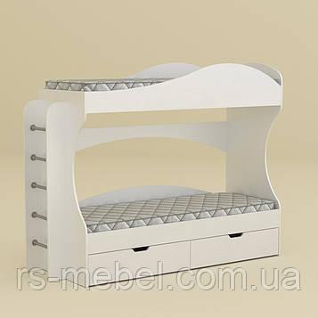 Кровать двухъярусная Бриз, дсп (Компанит)