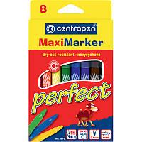 Фломастеры Centropen 8 цветов Perfect Maxi 8610/08