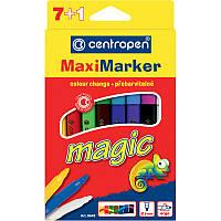 Фломастеры Centropen 8 штук Magic Maxi 14цветов 8649/08