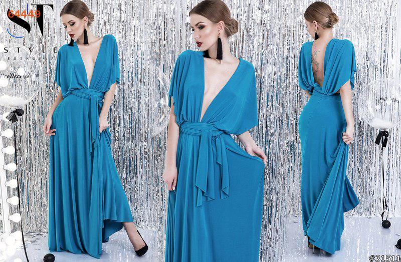 Платье женское вечернее длинное