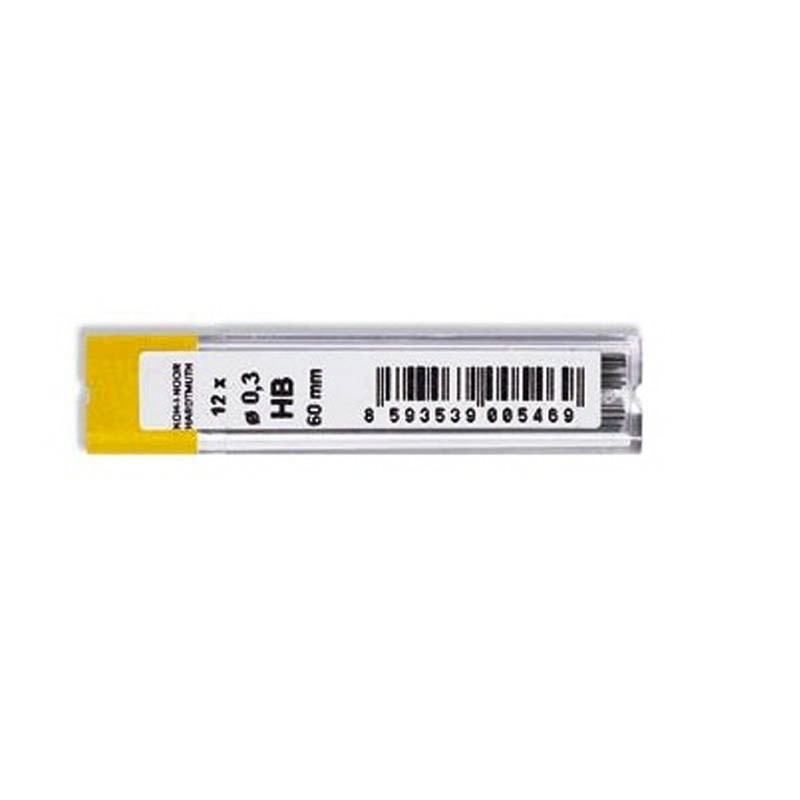 Стержни Koh-i-noor для мех карандаша 0,3 мм HB 4132.HB
