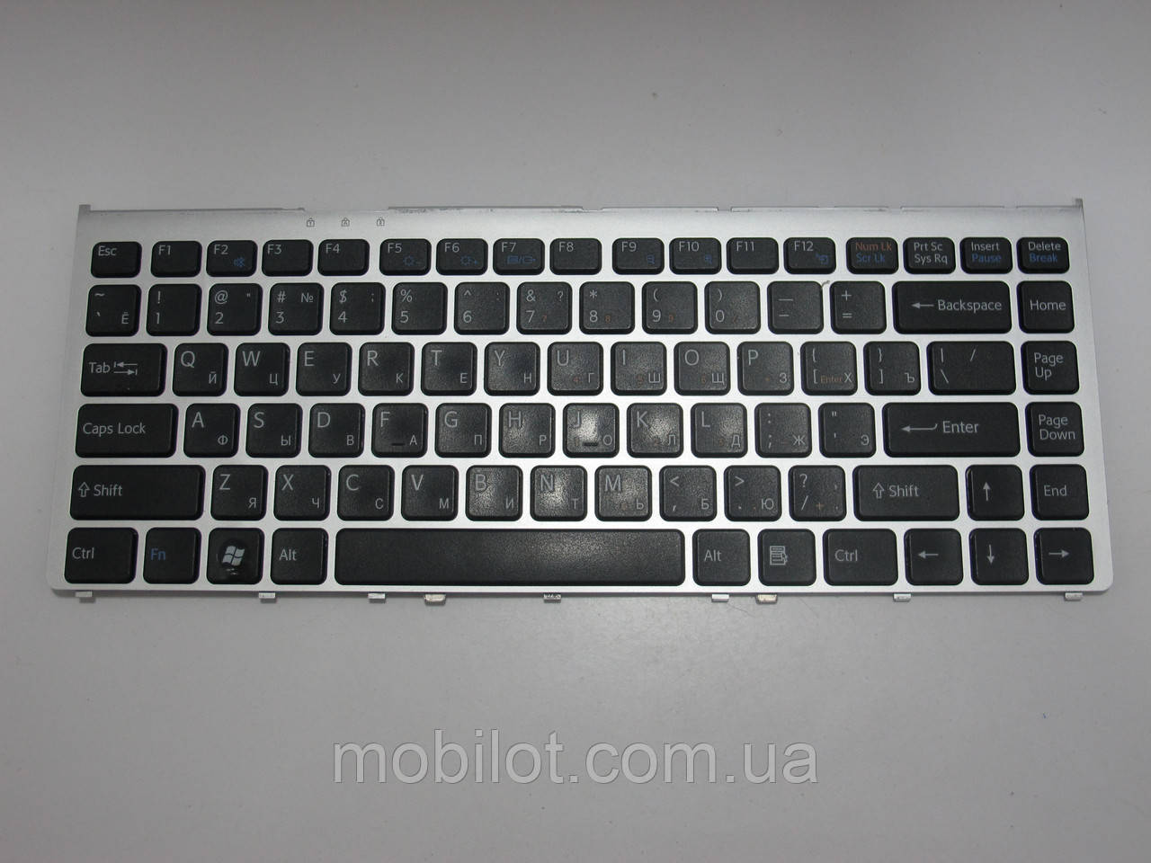 Клавиатура Sony PCG-3B4P VGN-FW11SR (NZ-5910)