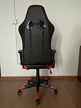 Крісло Drive red з підставкою для ніг, фото 3