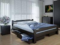 Кровать MeblikOff Сакура с ящиками (160*200) ясень