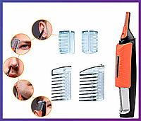 Универсальный триммер для для носа, ушей и корректировки стрижки MicroTouch Switch Blade, фото 1