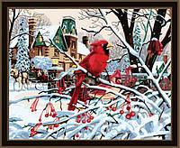 Картина по номерам MENGLEI Зима (MG160) 40 х 50 см, фото 1