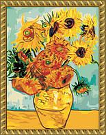 Набор для рисования MENGLEI Подсолнухи худ. Ван Гог (MG098) 40 х 50 см, фото 1