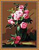 Набор для рисования MENGLEI Букет из чайных роз (MG174) 40 х 50 см