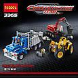 """Конструктор Decool 3365 (аналог Lego Technic 42023) """"Строительная команда"""" 834 дет, фото 2"""