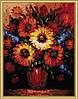 Набор для рисования MENGLEI Букет подсолнухов (MG185) 40 х 50 см