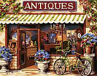 Набор для рисования MENGLEI Европейский магазинчик (MG113) 40 х 50 см, фото 1