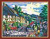 Раскраска по номерам MENGLEI Маленький европейский городок (MG200) 40 х 50 см