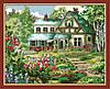 Раскраска по номерам MENGLEI Спокойный дом (MG166) 40 х 50 см
