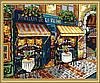 Картина раскраска MENGLEI Парижские улочки (MG139) 40 х 50 см