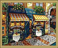 Картина раскраска MENGLEI Парижские улочки (MG139) 40 х 50 см, фото 1