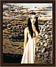 Рисование по номерам MENGLEI Девушка в пустыне (MG054) 40 х 50 см