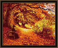 Картина по номерам MENGLEI Танец осенних листьев (MG036) 40 х 50 см, фото 1