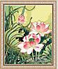Картина по номерам MENGLEI Цветы лотоса (MG040) 40 х 50 см